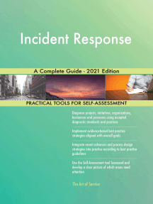 Incident Response A Complete Guide - 2021 Edition