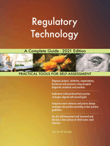 Regulatory Technology A Complete Guide - 2021 Edition