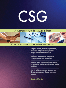 CSG A Complete Guide - 2021 Edition