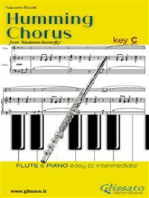 "Humming Chorus - Flute and Piano (Key C): from ""Madama Butterfly"""