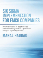 Six Sigma Implementation for FMCG Companies