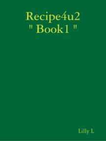 """Recipe4u2 """" Book1 """""""