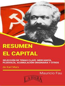Resumen de El Capital: RESÚMENES UNIVERSITARIOS