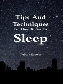 Tips and Techniques for How to Get to Sleep