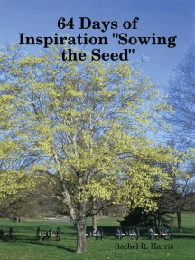 """64 Days of Inspiration """"Sowing the Seed"""""""
