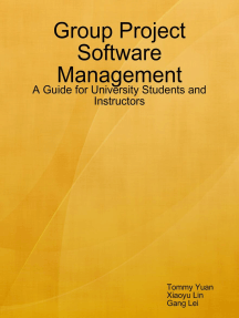 Group Project Software Management: A Guide for University Students and Instructors