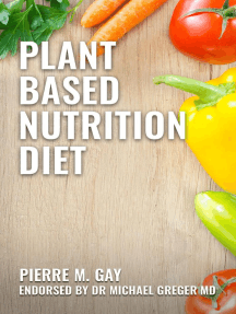 Plant Based Nutrition Diet