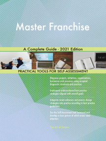Master Franchise A Complete Guide - 2021 Edition