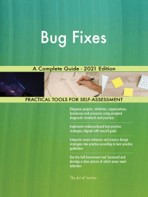 Bug Fixes A Complete Guide - 2021 Edition