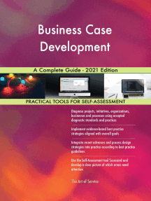 Business Case Development A Complete Guide - 2021 Edition