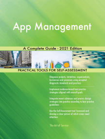 App Management A Complete Guide - 2021 Edition