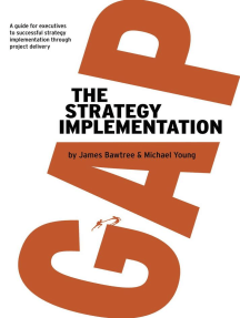 The Strategy Implementation Gap: A Guide for Executives to Successful Strategy Implementation through Project Delivery
