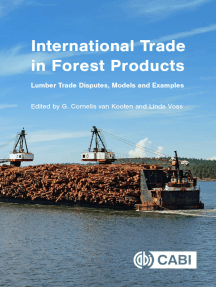 International Trade in Forest Products: Lumber Trade Disputes, Models and Examples