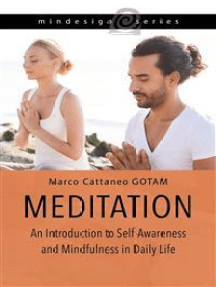 Meditation: An Introduction to Self-Awareness and Mindfulness in Daily Life