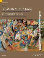 Classics meet Jazz: 10 jazz fantasies on classical themes for flute and piano
