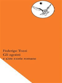 Gli egoisti e altre storie romane