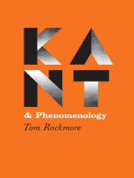 Kant and Phenomenology