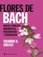 Flores de Bach: Hecho y proceso diagnóstico, prescripción y terapéutica