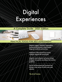 Digital Experiences A Complete Guide - 2021 Edition