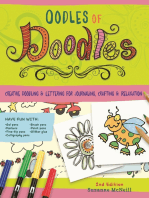 Oodles of Doodles, 2nd Edition: Creative Doodling & Lettering for Journaling, Crafting & Relaxation