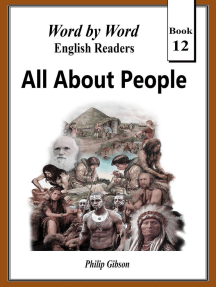 All About People: Word by Word Graded Readers for Children, #12