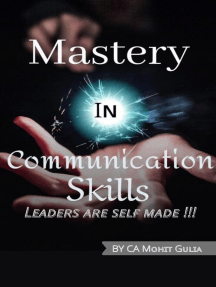 Mastery In Communication Skills