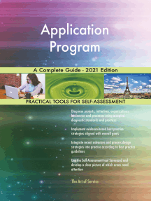Application Program A Complete Guide - 2021 Edition