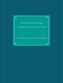 Füßebaumelnd am Horizont sitzend: Anthologie und Arbeitsbuch