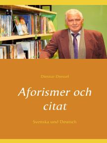 Aforismer och citat: Svenska und Deutsch