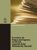 O ensino de língua portuguesa no Brasil, segundo João Wanderley Geraldi