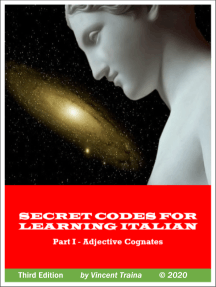Secret Codes for Learning Italian, Part I - Adjective Cognates