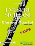 I Vespri Siciliani - Clarinet Quartet (parts)
