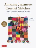 Amazing Japanese Crochet Stitches: A Stitch Dictionary and Design Resource (156 Stitches with 7 Practice Projects)