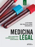 Medicina Legal: 350 questões comentadas para concursos