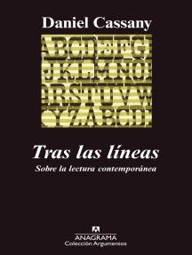 Tras las líneas: Sobre la lectura contemporánea