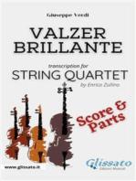Valzer Brillante - String Quartet (parts & score)