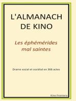 L'almanach de Kino: Les éphémérides mal-saintes