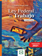 Ley Federal del Trabajo Comentada 2021