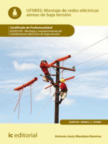 Montaje de redes eléctricas aéreas de baja tensión. ELEE0109: Montaje y mantenimiento de instalaciones eléctricas de baja tensión