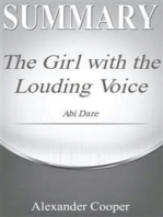 Summary of The Girl with the Louding Voice