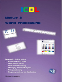 ICDL Word Processing
