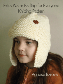 Extra Warm Earflap for Everyone Knitting Pattern