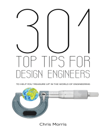 301 Top Tips for Design Engineers: To Help You 'Measure Up' in the World of Engineering