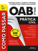 Como passar OAB 2ª fase: Prática civil