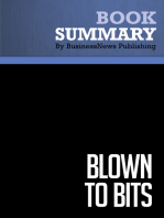 Summary: Blown to Bits: Review and Analysis of Evans and Wurster's Book