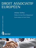 Droit associatif européen