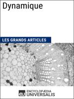 Dynamique: Les Grands Articles d'Universalis