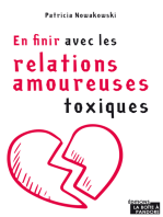 En finir avec les relations amoureuses toxiques: Guide d'épanouissement personnel