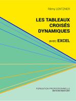 Les tableaux croisés dynamiques avec Excel: Pour aller plus loin dans votre utilisation d'Excel