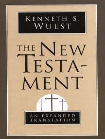 Read The New Testament Online By Kenneth S Wuest Books